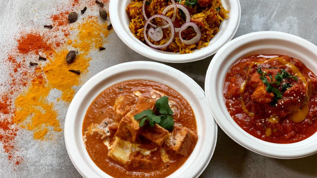 restauracja indyjska gdynia butter chicken naan